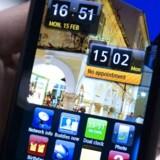 Samsungs Wave-telefon er en af flere med Bada som styresystem. Arkivfoto: Josep Lago, AFP/Scanpix