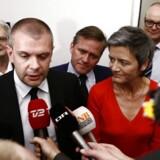 NR. ET OG TO: Bjarne Corydon og Margrethe Vestager toppper magtlisten