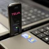 Efterspørgslen på 4G-forbindelser på farten var større end forventet, så Telia løb tør. Arkivfoto: Liselotte Sabroe