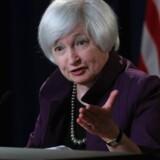 Den amerikanske centralbankchef Janet Yellen
