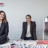 Ejerne af børnetøjsfirmaet Norlie Kirsten Nørgaard og Christina Nørgaard har valgt at droppe den traditionelle distribution til børnetøjsbutikker. Foto: Christian Liliendahl