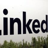 LinkedIn oplever stadig stor fremgang, men væksten tager lidt af. Foto: Robert Galbraith, Reuters/Scanpix