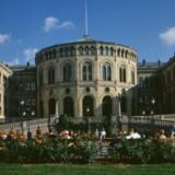 Det norske folketing, Stortinget, skal snart beslutte, om EUs overvågningsregler skal indføres i ikke-EU-landet Norge. Foto: Stortingsarkivet/Teigens fotoatelier as