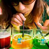 Prøv fx en lokal specialitet; Berliner Weisse: øl med et skud koncentreret hindbær-, waldmeister- eller hyldeblomstsaft.