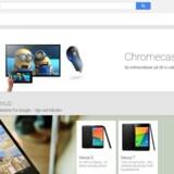 Google sælger sine egne hardwareprodukter gennem sin Google Play-netbutik, hvor man også kan hente og købe applikationer til Android-udstyr.