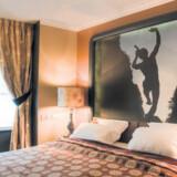 Paris er farverigt – det er indretningen af værelserne på Hotel Fontaines du Luxembourg også.