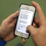 Særlig sms crasher din iPhone på sekundet.
