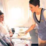Når det gæder serveringer mellem himmel og jord, er Emirates Airlines i toppen.
