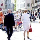 Der er gang i den danske økonomi, og danskerne har fundet købelysten frem igen.
