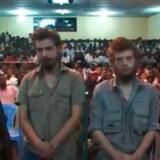 De norske statsborgere er dømt for anklager om drab, drabsforsøg, spionage, væbnet røveri og organiseret kriminalitet.
