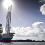 Maersk Drilling nu to enheder - Maersk Venturer og boreriggen Maersk Endurer - i lediggang. ARKIVFOTO