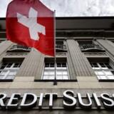 Den schweiziske storbank Credit Suisses nettounderskud landede på 5,83 mia. schweizerfranc, svarende til godt 39,1 mia. kr.