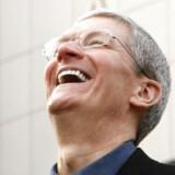Tim Cook – Apples topchef, som tog over efter Steve Jobs i 2011 – har tilsyneladende et fast greb om virksomheden, og skepsis og kritik synes noget nedtonet. Arkivfoto.