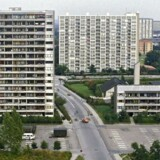 Den sociale belastning i Danmark er især stor i hovedstaden og kommuner som Brøndby, Ishøj og Albertslund. Her boligblokkene Brøndbyerne ved Roskildevej. (Arkivfoto)