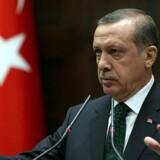 Præsident Recep Tayyip Erdogan er mandag taget i ed til en ny embedsperiode, hvor han har videre beføjelser end nogen anden tyrkisk leder har haft i flere årtier. Adem Altan/arkiv/Ritzau Scanpix
