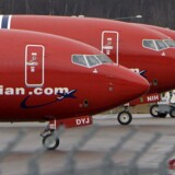 ARKIVFOTO 2017 Norwegian fly i Arlanda