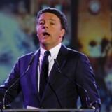 Den tidligere statsminister Matteo Renzi (PD).