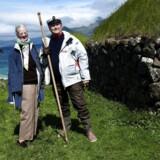 Regentparret på Færøerne - Regentparret besøger Koltur i 2010.