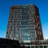 SE RB PLUS Efter fire års byggeri er Mærsk Tårnet i København klar som Danmarks nye vartegn for sundhedsforskning. Ideen til tårnet fik dekan Ulla Wewer for ti år siden. Her fra fremvisningen 12. januar 2016. (Foto: Elias Nielsen/Scanpix 2017)