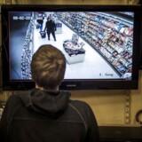 Arkivfoto af overvågning i Meny-butikker.