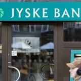 Jyske Bank og Danske Bank er blandt de banker, der har gebyret op for køb i udlandet. (Foto: Jens Nørgaard Larsen/Scanpix 2018)