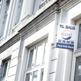 Nye tal fra Danmarks Statistik viser, at lejlighedspriserne fortsat har pilen op med en stigning på 7,5 procent i tredje kvartal sammenlignet med samme kvartal i 2016. Arkivfoto: Mathias Løvgreen/Scanpix 2017