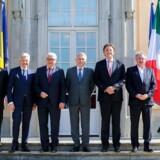 Tysklands udenrigsminister, Frank-Walter Steinmeier, er vært for lørdagens møde.