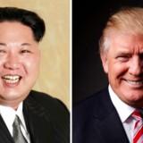 Den retoriske krig mellem Kim Jong-un og Donald Trump har nået nye højder.