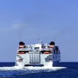 Knap halvanden million passagerer lod sig i 2017 transportere til eller fra Bornholm med færge. Arkivfoto.