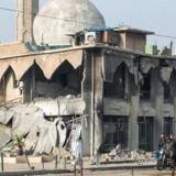 Islamisk Stat har lagt mange lureminer ud i de mange universitetsbygninger, som har været jihadisternes hovedkvarter. Der er blandt andet fundet kemikalier, og undersøgelser viser, at Islamisk Stat producerede sennepsgas.