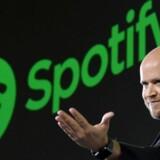 Arkivfoto. Spotify indgår aftale med Universal Music – og dermed forsvinder noget for dem, der hidtil har haft gratis adgang til streaming-tjenesten.