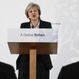 Arkivfoto. Premierministerens oplæg til et EU-farvel styrkede det britiske pund efter et fald tidligere på dagen.