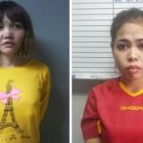 Arkivfoto: De to kvinder blev onsdag tiltalt for at have dræbt Kim Jong-nam med en stærk nervegas.