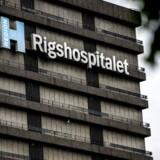Rigshospitalet i København, fredag den 4. august 2017. (Foto: Mads Claus Rasmussen/Scanpix 2017)