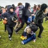 Campingpladsen åbner og folk stormer ind under årets Roskilde Festival, lørdag den 24. juni 2017.. (Foto: Ida Marie Odgaard/Scanpix 2017)