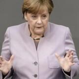 Forbundskansler Angela Merkel udtaler, at Tysklands forhold til Tyrkiet har lidt et alvorligt knæk i kølvandet på præsident Recep Ayyip Erdogans handlinger den seneste uge.