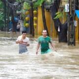 Oversvømmelser har ramt den vietnamesiske by Hoi An særligt hårdt.