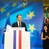 Frankrigs præsident, Emmanuel Macron, ønsker europæisk grænsepoliti og et pan-europæisk asylkontor.