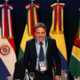 Nicolás Dujovne tiltræder som formand for G20-samarbejdet efter nytår. I øjeblikket er han finansminister i Argentina.