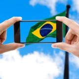 Brasilien er sammen med Argentina, Chile og Mexico fra 12. marts undtaget roamingafgifter hos Danmarks fjerdestørste teleselskab, »3«. Arkivfoto: Iris/Scanpix