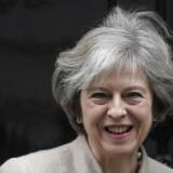 Arkivfoto. Den britiske leder vil ifølge medier bekræfte i tale, at Storbritannien også helt forlader EU's indre marked.