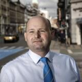 Justitsminister Søren Pape Poulsen (Konservative Folkeparti) på Nørrebro.