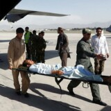 Arkivfoto. Lokal embedsmand beskylder Taliban for at have stukket ild til hospital og dræbt flere læger og patienter.