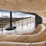 Snøhettas »rensdyr-pavillon« i Dovre, Norge.