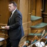 Der var i dag udvidet spørgetime med statsminister Lars Løkke Rasmussen (V) i folketingssalen. (Foto: Liselotte Sabroe/Scanpix 2017)