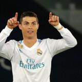 Superstjernen Cristiano Ronaldo afgjorde VM-finalen for klubhold, da han sikrede Real Madrid sejren i finalen. Scanpix/Karim Sahib