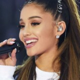 Popstjernen Ariana Grande spillede 4. juni til en støttekoncert for terrorofrene i Manchester. Reuters/Handout