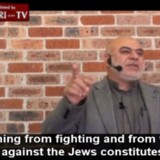 Hizb ut-Tahrir-prædikanten Ismail al-Wahwah talte dunder mod jøder og Israel under en fredagsbøn i sit hjemland Australien i juli 2015. Hans prædiken blev oversat af Middle East Media Research Institute (MEMRI).