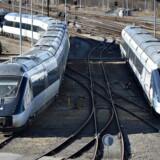 Til december næste år skal Danmarks nye højhastighedsbane fra København til Ringsted åbne. Arkivfoto.(Foto: Henning Bagger/Scanpix 2013)