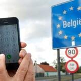 De nye EU-regler, som forbyder overtaksering af mobiltale og -data, trådte i kraft 15. juni. Arkivfoto: Philippe Huguen, AFP/Scanpix